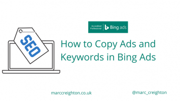 How to Copy Ads and Keywords in Bing Ads