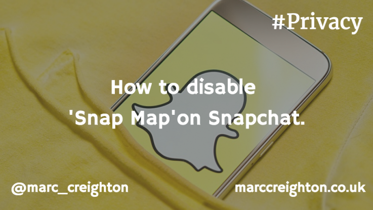 Snap Map Privacy Settings