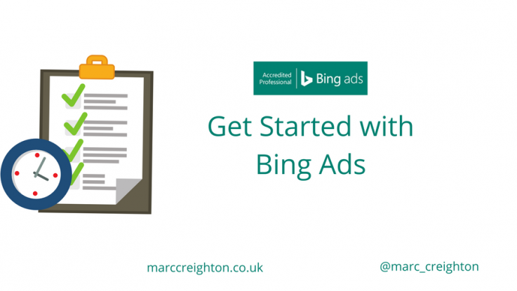 Get Started with Bing Ads