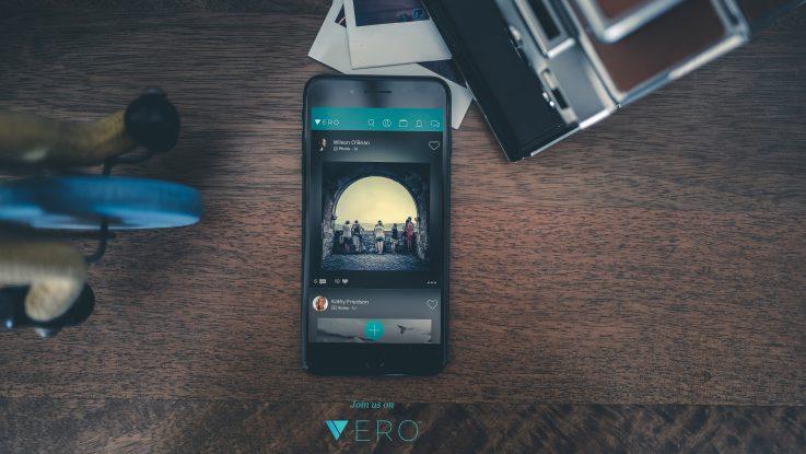 Get verified on Vero