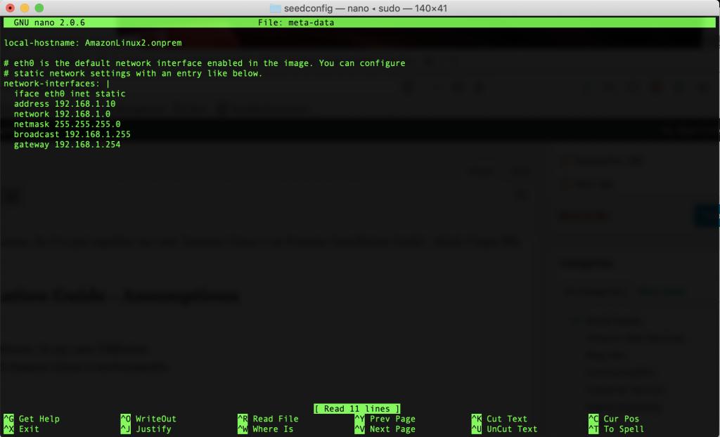 Meta-Data Terminal