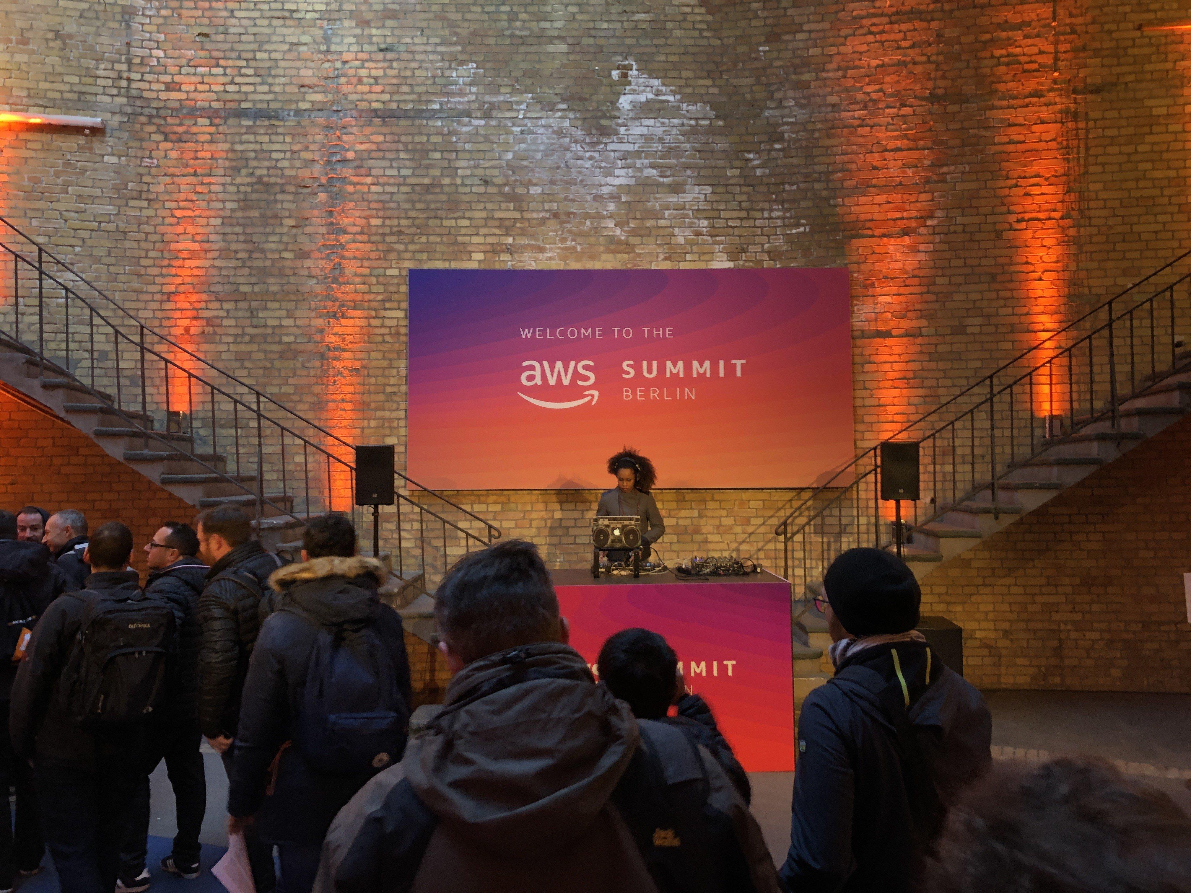 AWS Summit Berlin 2019 | My View | MarcCreighton co uk