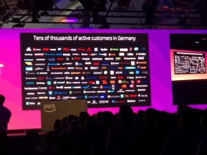 AWS customers in Germany.