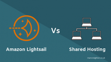Lightsail vs shared hosting