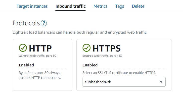 Configure HTTPS